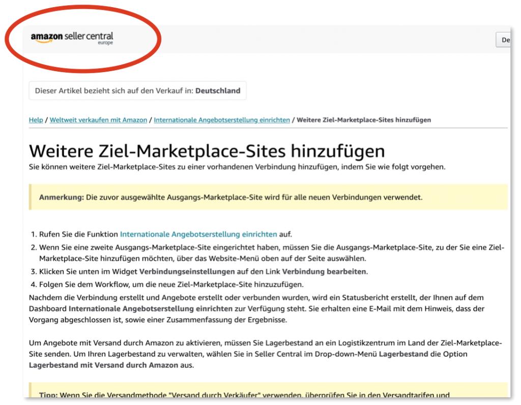 e-comerce in Germany: Amazon