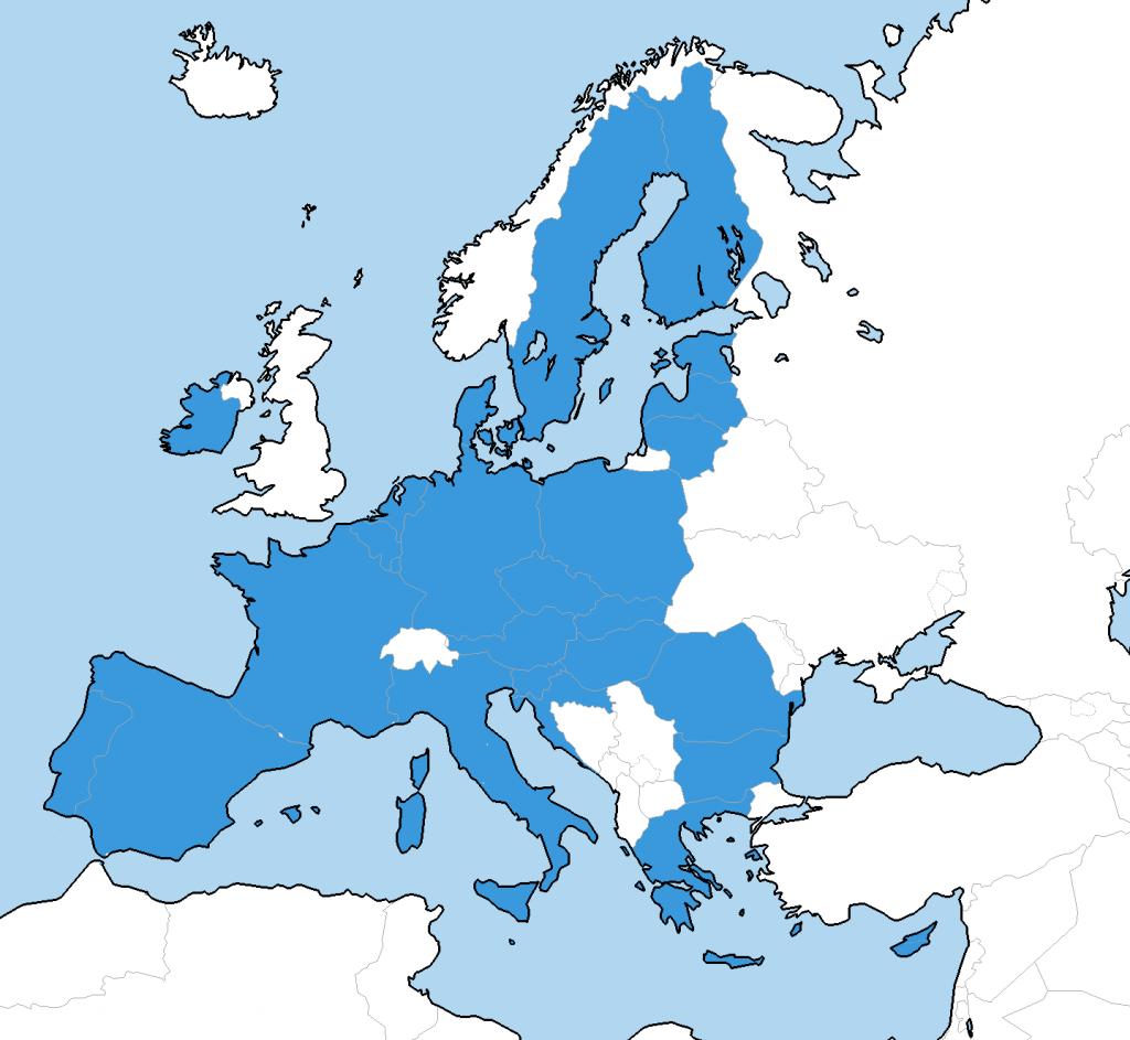 Europa Karte Mehrwertsteuer Onlinehandel